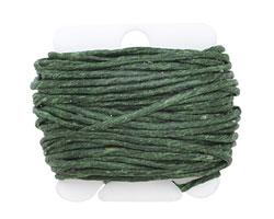 Dark Emerald Irish Waxed Linen 12 ply