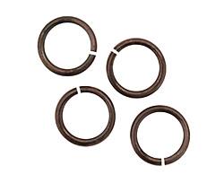 Gunmetal Jump Ring 12mm, 13 gauge