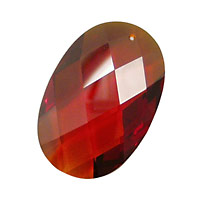 Salsa Faceted Oval 20x30mm