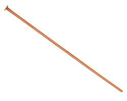 """TierraCast Copper Headpin 2"""", 21 gauge"""