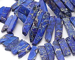 Midnight Blue Impression Jasper Graduated Stick 8-10x12-54mm