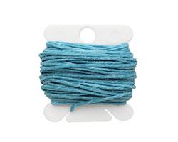 Turquoise Irish Waxed Linen 7 ply
