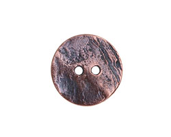 Greek Bronze (plated) Large Etched Button 20mm