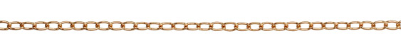 Bronze (plated) Oval Cable Chain