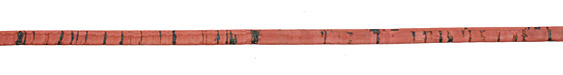Dusty Rose Portuguese Cork Cord Flat 5mm
