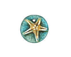 Humble Beads Polymer Clay Tiny Starfish Charm 16mm