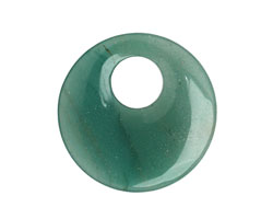 Green Aventurine Off Center Donut 45mm