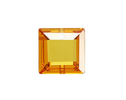 Sunshine Faceted Square 18mm