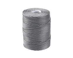 C-Lon Gray (.5mm) Bead Cord
