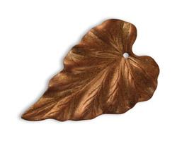 Vintaj Artisan Copper Woodland Leaf Pendant 23x38mm