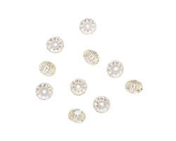 Jonquil Faceted Rondelle 4x6mm