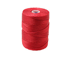 C-Lon Red Hot (.5mm) Bead Cord