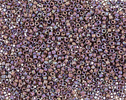 TOHO Semi-Glazed Rainbow Lavender Round 15/0 Seed Bead