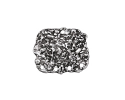 Zola Elements Antique Silver (plated) Nugget Focal 19x16mm