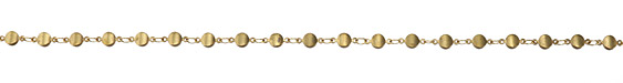 Zola Elements Disc Link Brass Chain
