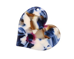 Zola Elements Twilight Acetate Heart Focal 35mm