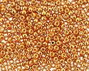 TOHO Permanent Galvanized Old Gold Round 8/0 Seed Bead