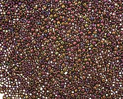 TOHO Metallic Iris Purple Round 15/0 Seed Bead