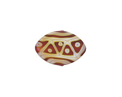 A Beaded Gift Fuchsia Opal Tribe Zulu 13x19mm