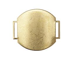 Vintaj Vogue Round Bracelet Blank 38x42mm