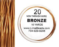 Parawire Bronze 20 gauge, 10 yards