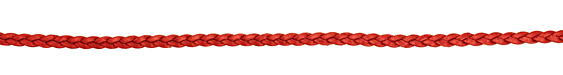 Moroccan Red (metallic) Flat Braided Leather Cord 5mm