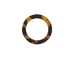 Zola Elements Tortoise Shell Matte Acetate Ring 24mm