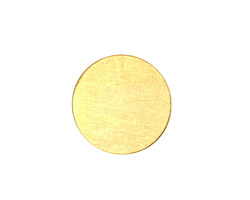 Brass Circle Blank 19mm