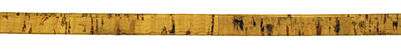 Mustard Portuguese Cork Cord Flat 10mm