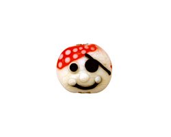 Grace Lampwork Pirate 13x14mm