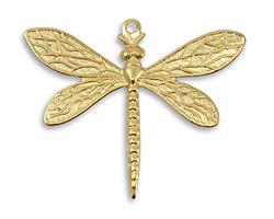Vintaj Vogue Queen Dragonfly 35x30mm