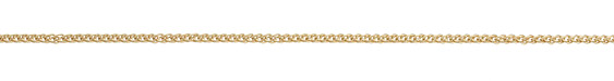 Satin Hamilton Gold (plated) Braided Cable Chain