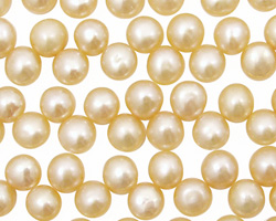 Vanilla Dancing Button 6-6.5mm