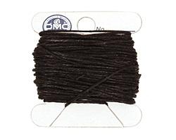 Black Irish Waxed Linen 4 ply