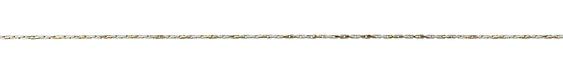White & Brass Stringing Chain