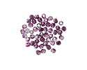 Czech Glass Mirror Orchid Fire Polished Round 2mm
