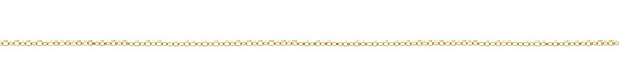 14K Gold Filled Tiny Flat Cable Chain
