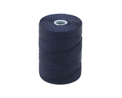 C-Lon Navy Fine Weight (.4mm) Bead Cord