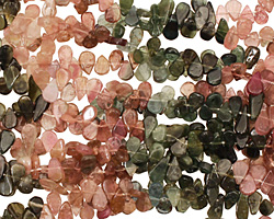 Tourmaline Flat Teardrop 3-4x5-7mm