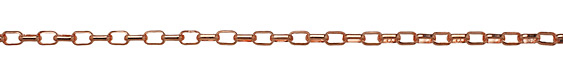 Copper (plated) Box Cable Chain