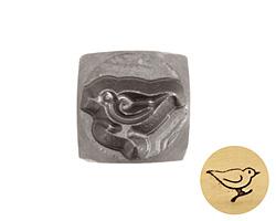 Bird Metal Stamp 6mm