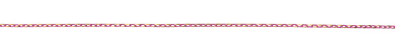 Neo Pink Oval Cut Cable Chain 3.5x2mm
