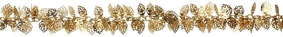Gold (plated) Oak Leaf Chain