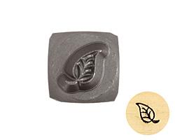 Leaf Metal Stamp 4mm