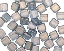 CzechMates Glass Halo Shadows 2-Hole Tile 6mm