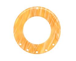 Zola Elements Honeycomb Acetate Donut Chandelier 38mm