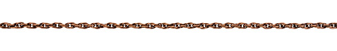 Antique Copper (plated) Rope Chain