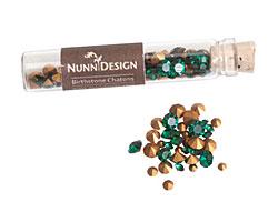 Nunn Design Emerald Crystal Chaton 5g