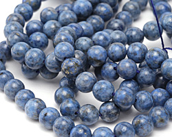 Denim Lapis Round 8mm
