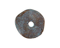 Greek Copper Patina Large Washer 23mm